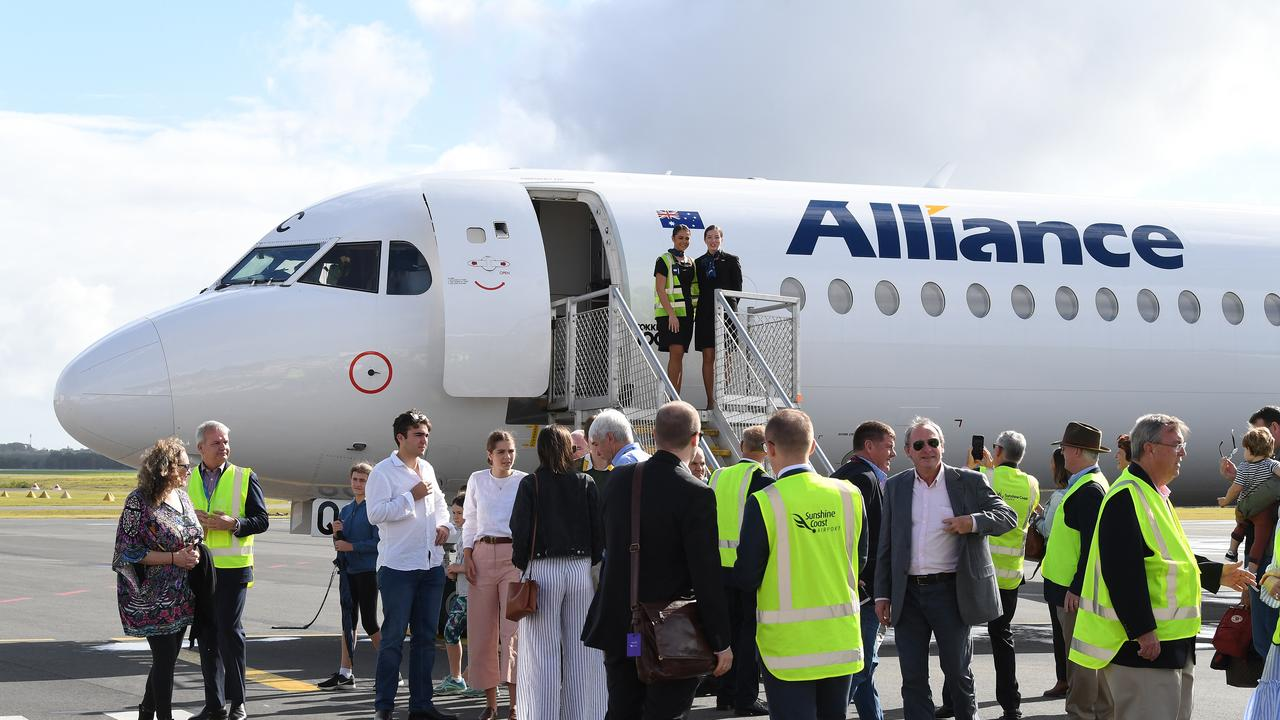 Alliance has announced flights from Sunshine Coast Airport to Cairns starting in July.