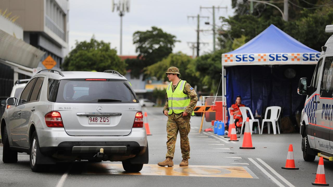 Army personnel have been called in for Coolangatta-Tweed border patrol. Picture:Scott Powick