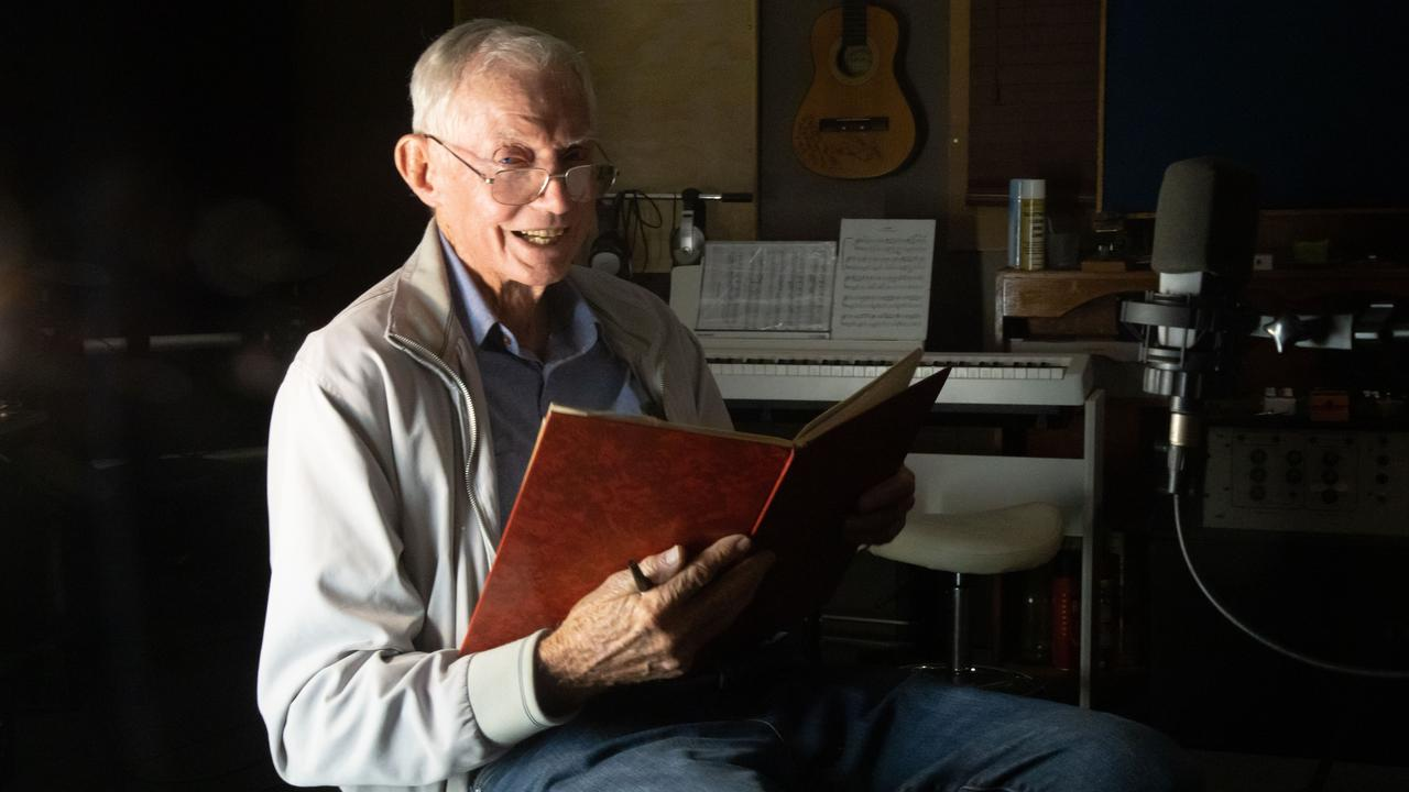 Frank Paul has written a bush ballad about his wife and great love of 60 years, Barbara, as part of Sugar Town Music's COVID 4740 Community Resilience Project. Picture: Cherrie Hughes Social Media & Photography