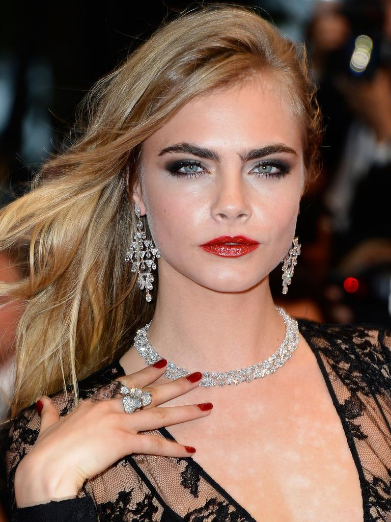 Model and actress Cara Delevingne has now been dragged into it. Picture: Pascal Le Segretain/Getty Images