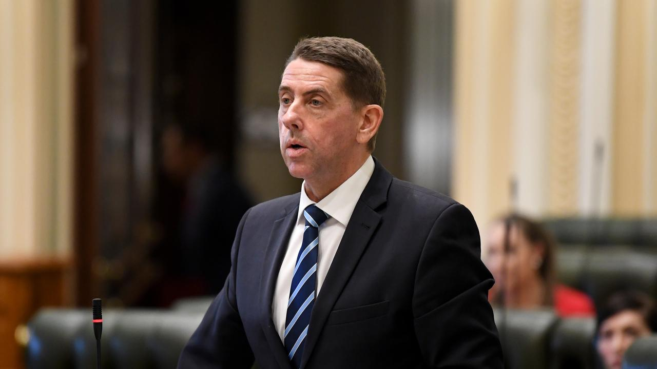 Queensland Treasurer Cameron Dick said the state government was investing more than $6 billion in COVID recovery efforts. Picture: Dan Peled/AAP