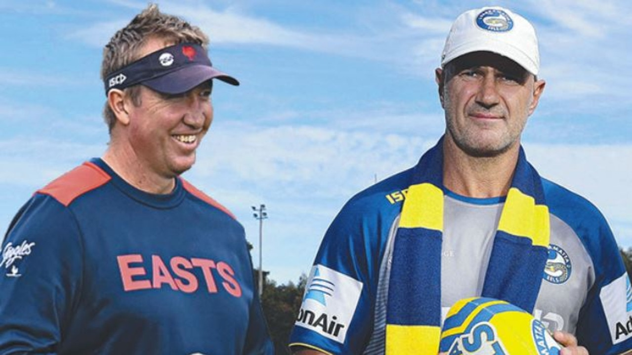 Trent Robinson and Brad Arthur are coaching success stories.
