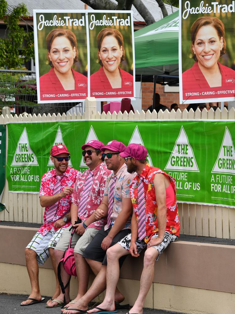 Voters in South Brisbane