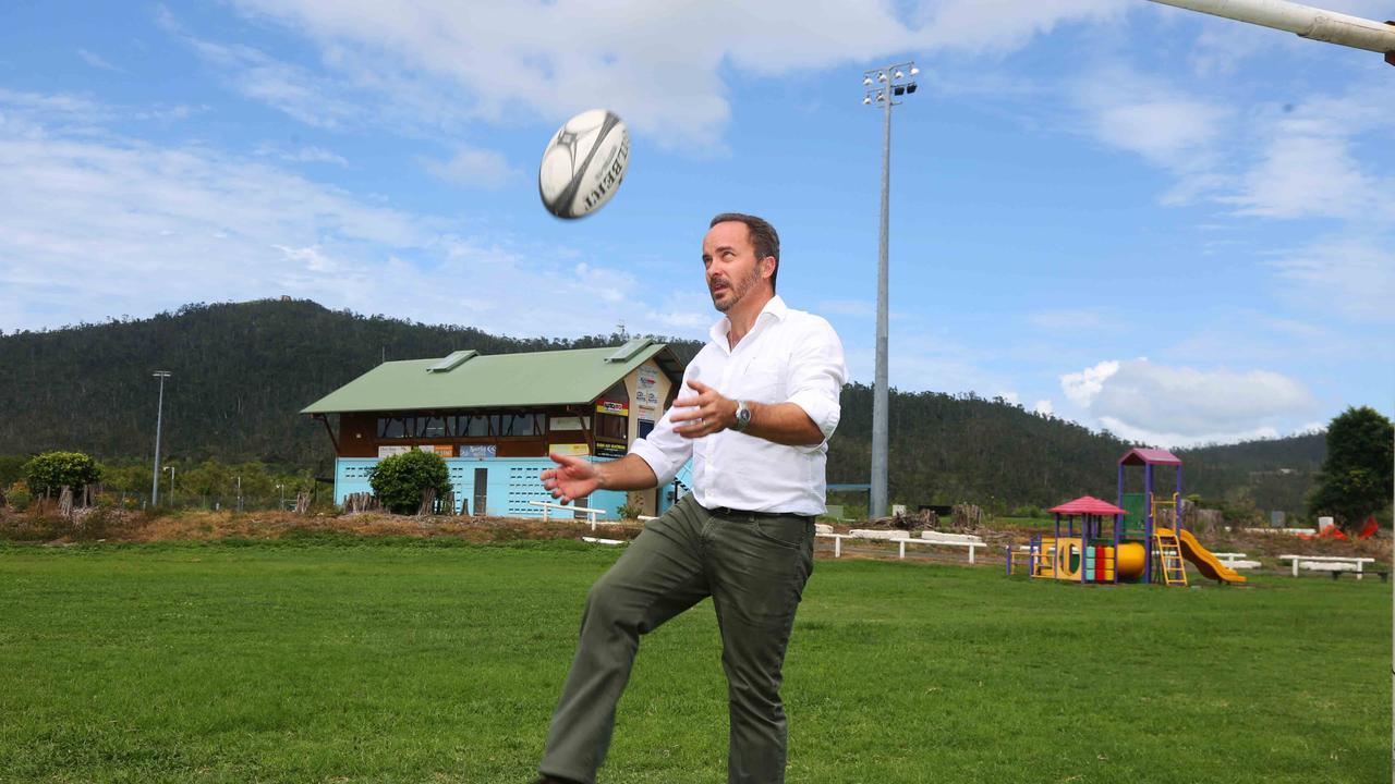Whitsunday Sportspark president, Justin Butler.