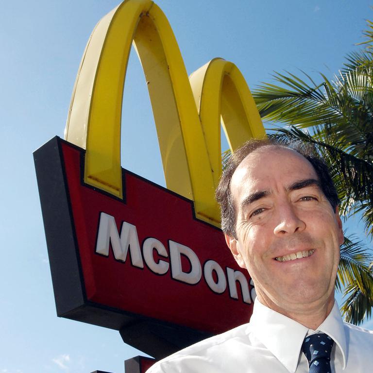 Rod Chiapello, current licensee at McDonald's Bracken Ridge.