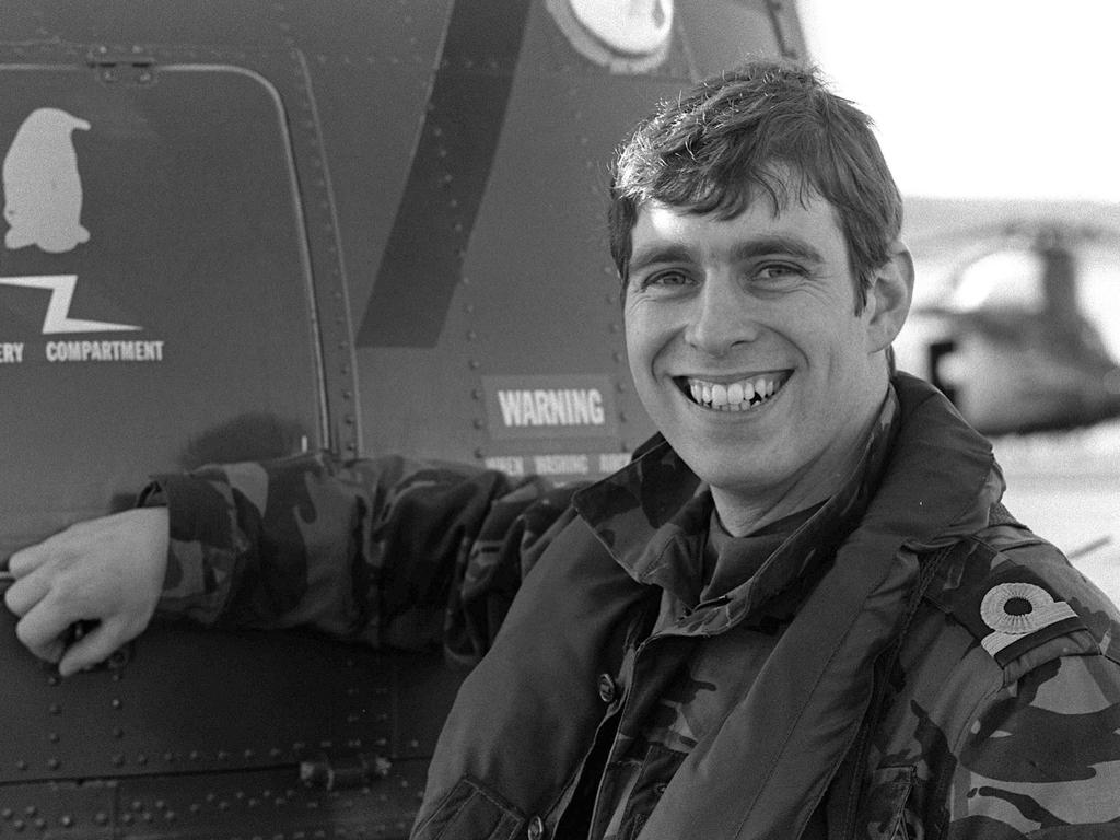 Prince Andrew went to the Falklands War. Picture: Alamy