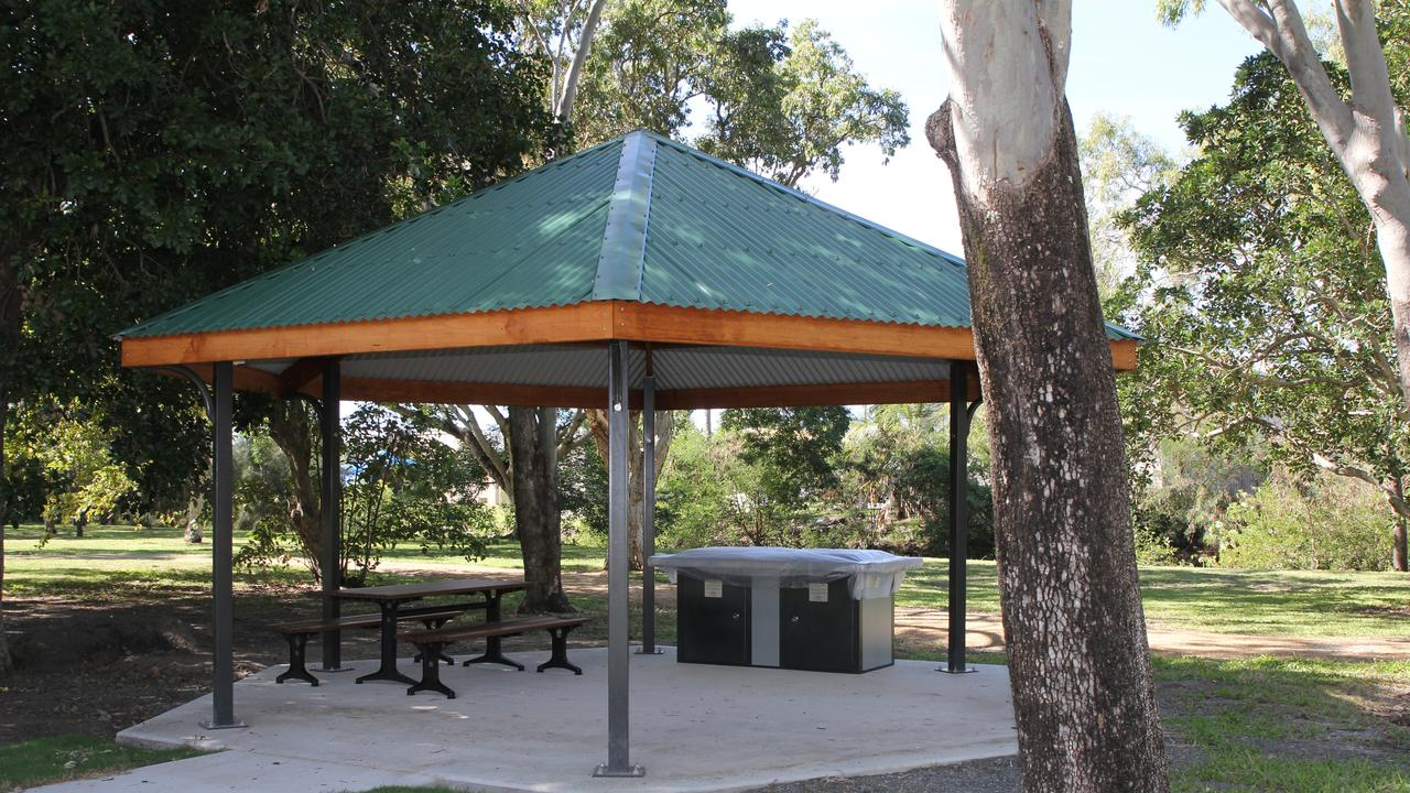 Work on the Queens Park revitalisation project is set to wrap up on time and on budget at the end of this month. Picture: Mackay Regional Council