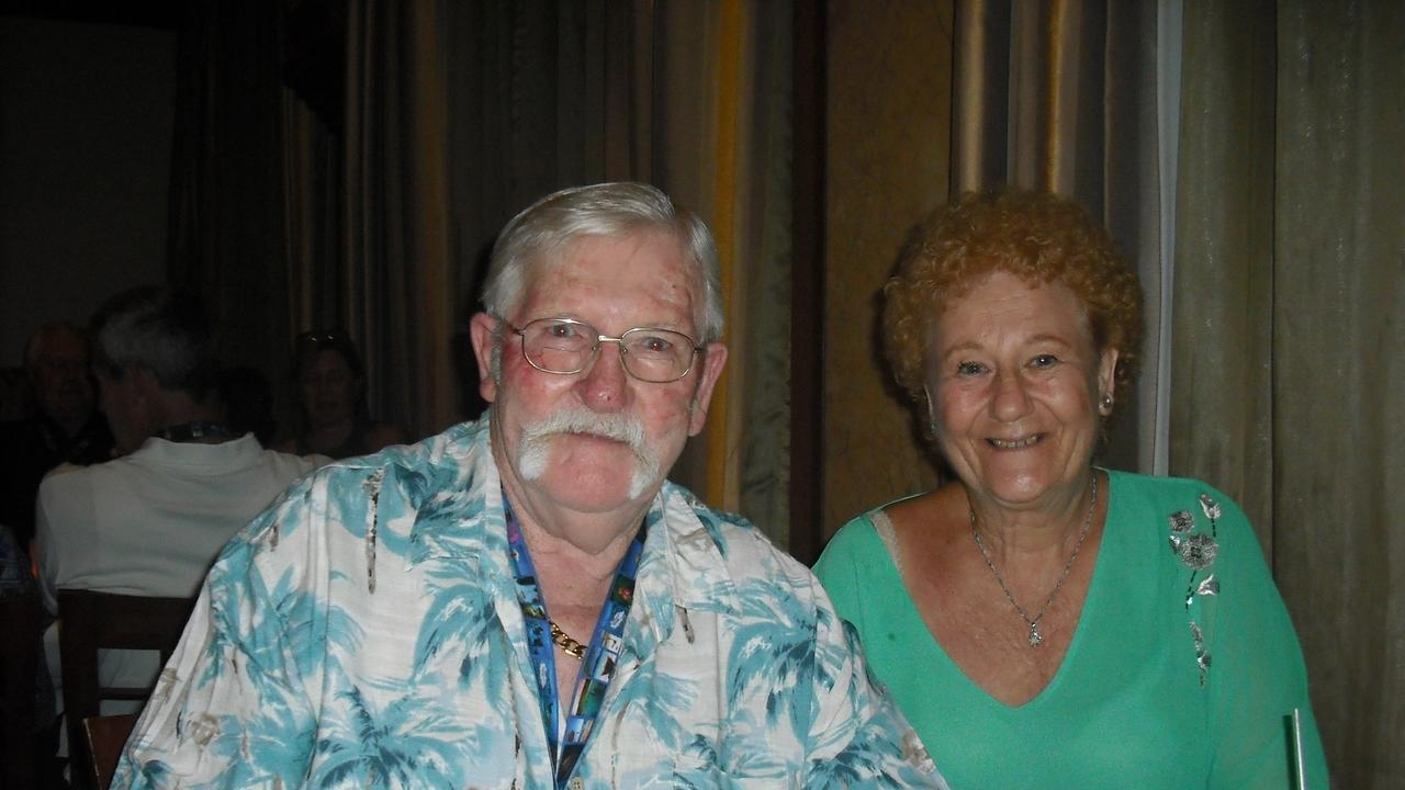 Victor and Tina Bawden enjoyed numerous cruises together. PHOTO: Supplied.