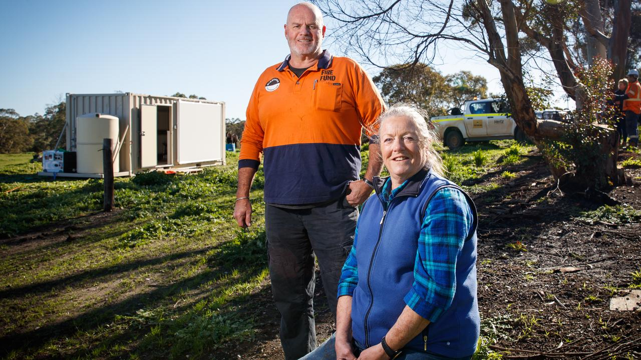 The inside story of how this idea has provided accommodation for fire victims across Australia and given them people hope for the future.