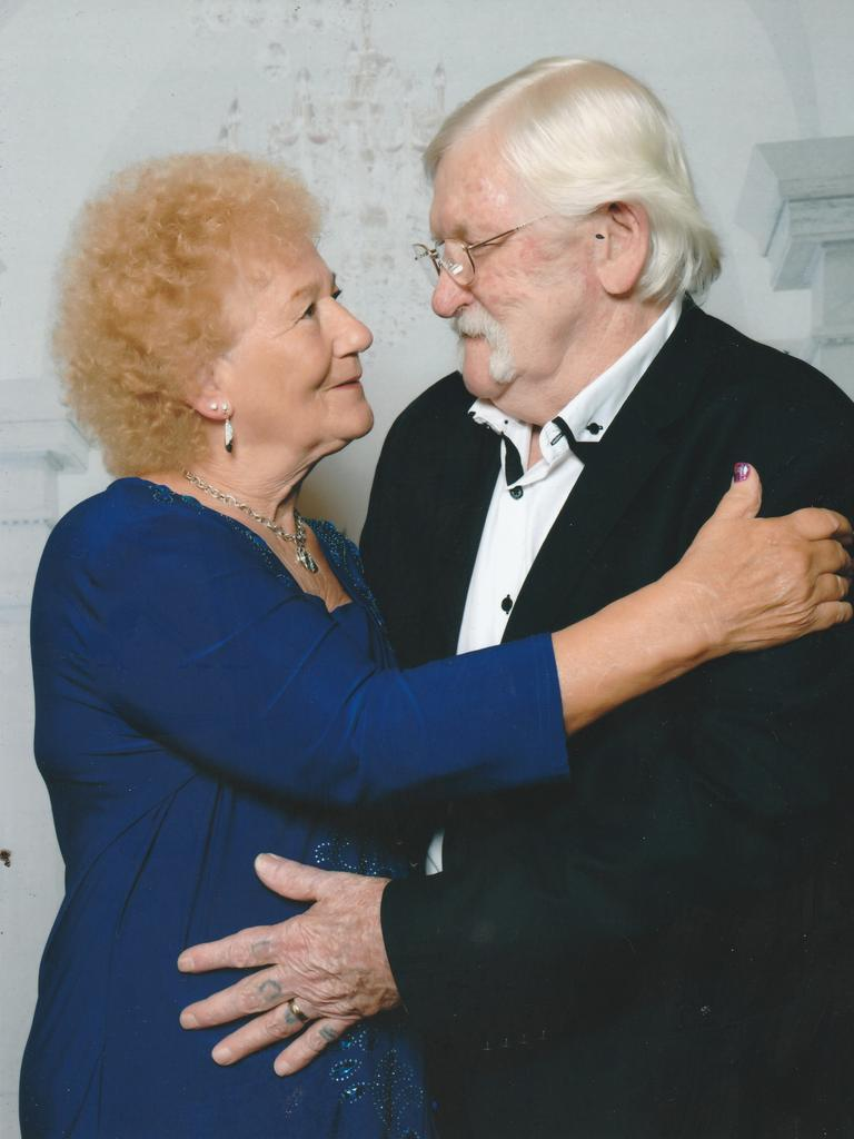 Tina and Victor Bawden at their 57th wedding anniversary. PHOTO: Supplied.