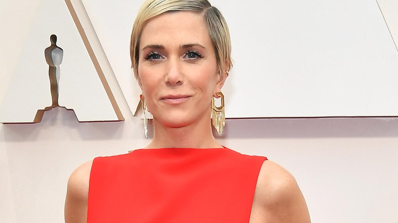Kristen Wiig and her fiance Avi Rothman welcomed twins earlier this year via a surrogate. Picture: Getty Images.