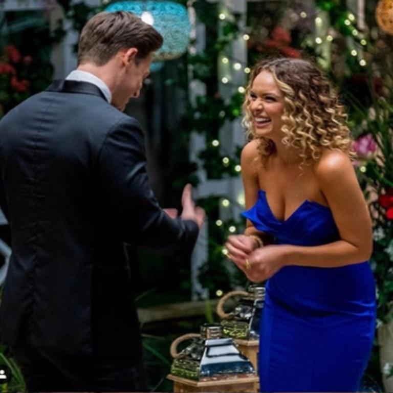 Chatfield was the runner-up on Matt Agnew's season of The Bachelor
