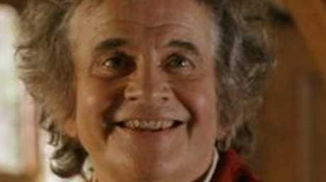 Ian Holm is best known today as Bilbo Baggins. Photo: Supplied