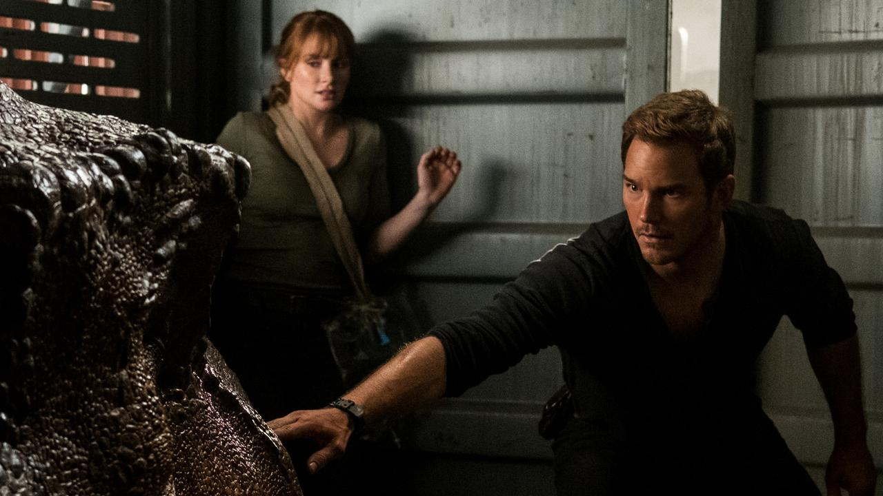 Bryce Dallas Howard and Chris Pratt were in Jurassic World together.