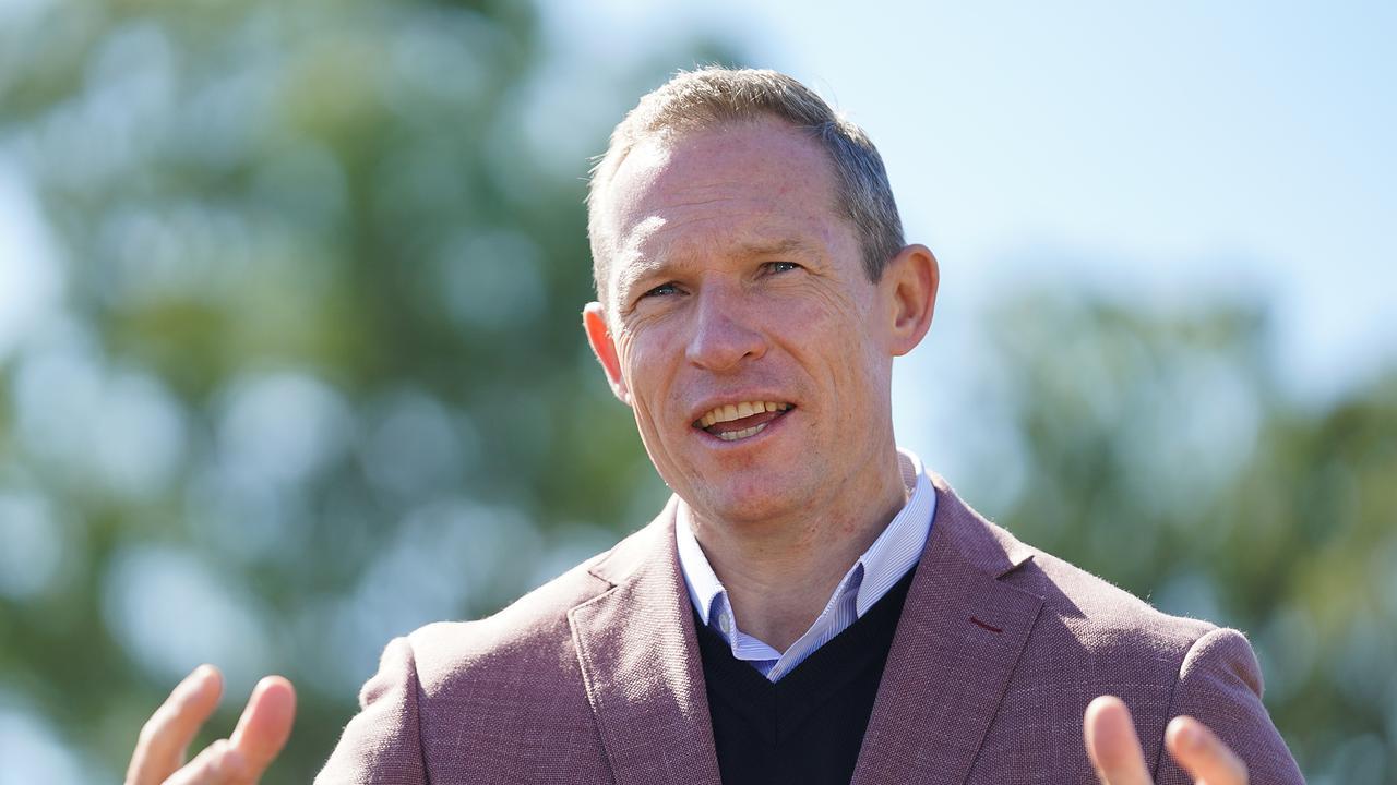 Queensland Sports minister Mick de Brenni. (AAP Image/Dave Hunt)