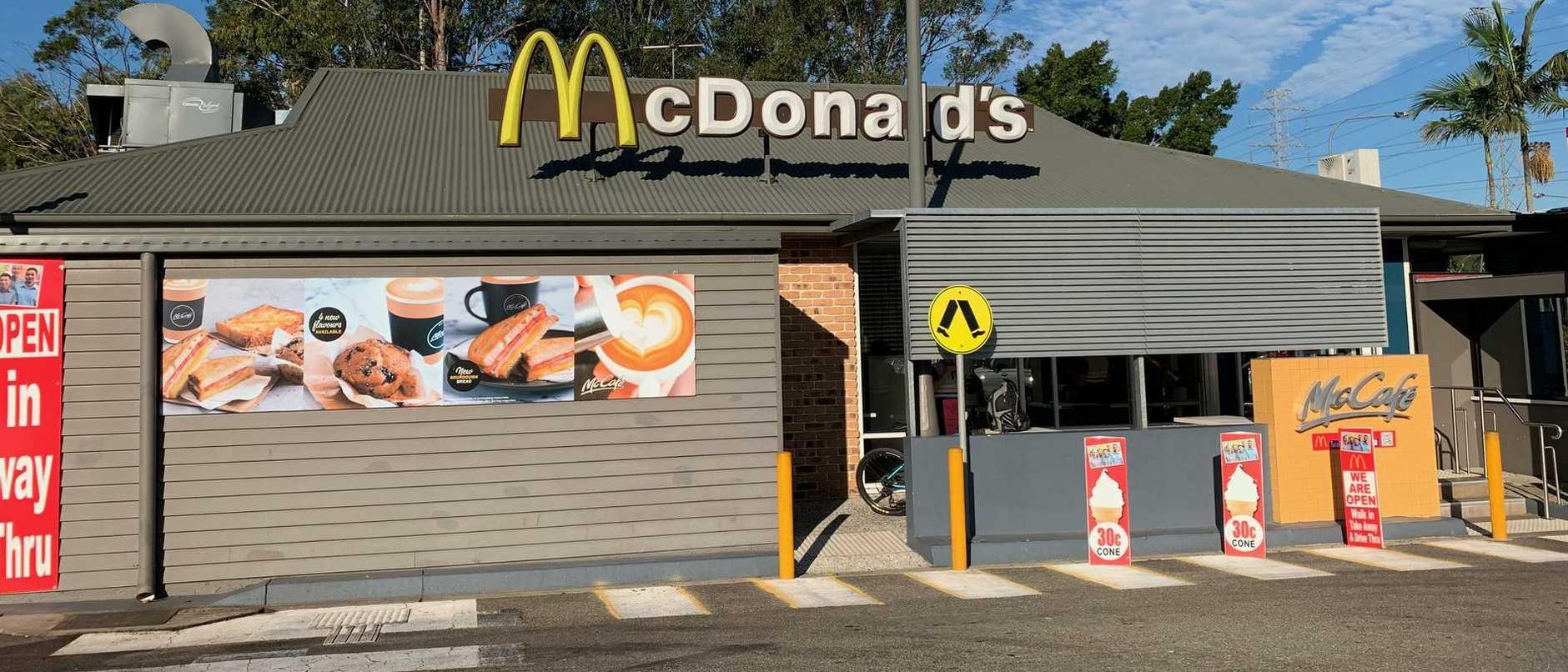 McDonald's Bracken Ridge. Picture: Michelle Smith