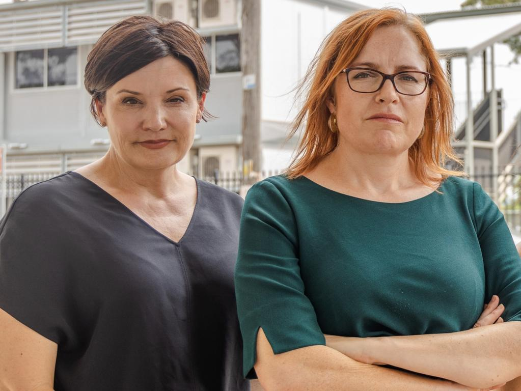 Jodi McKay and Julia Finn. Picture: Supplied.