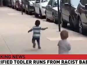 Twitter flags 'racist baby' Trump tweet