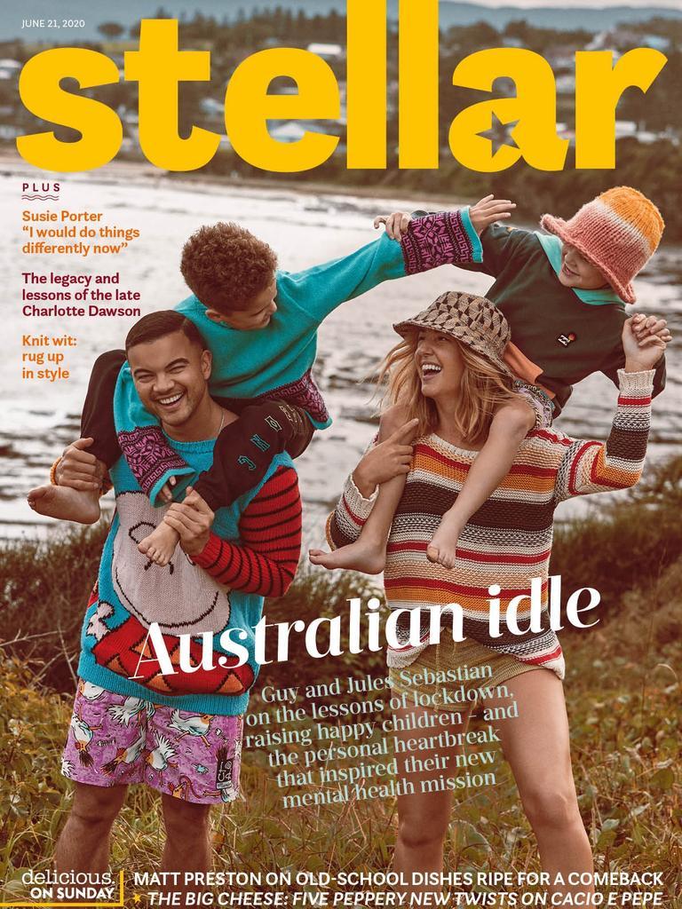 Guy and Jules Sebastian are Stellar's cover stars this Sunday.