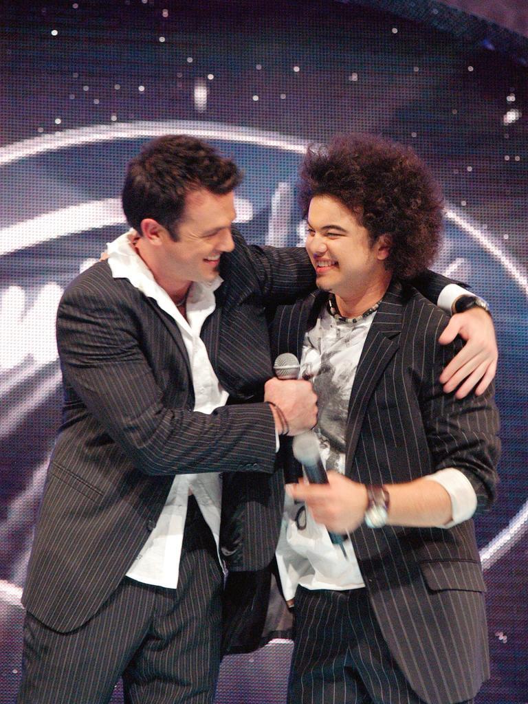 Guy won Australian Idol in 2003. (Picture: Network 10)