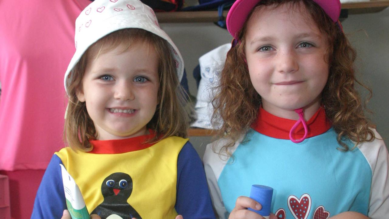 Anna (right) and her sister Amy when they were younger.