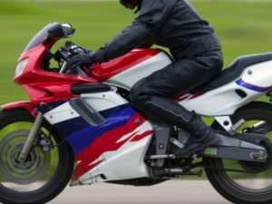 Man hurt in early-morning motorbike crash