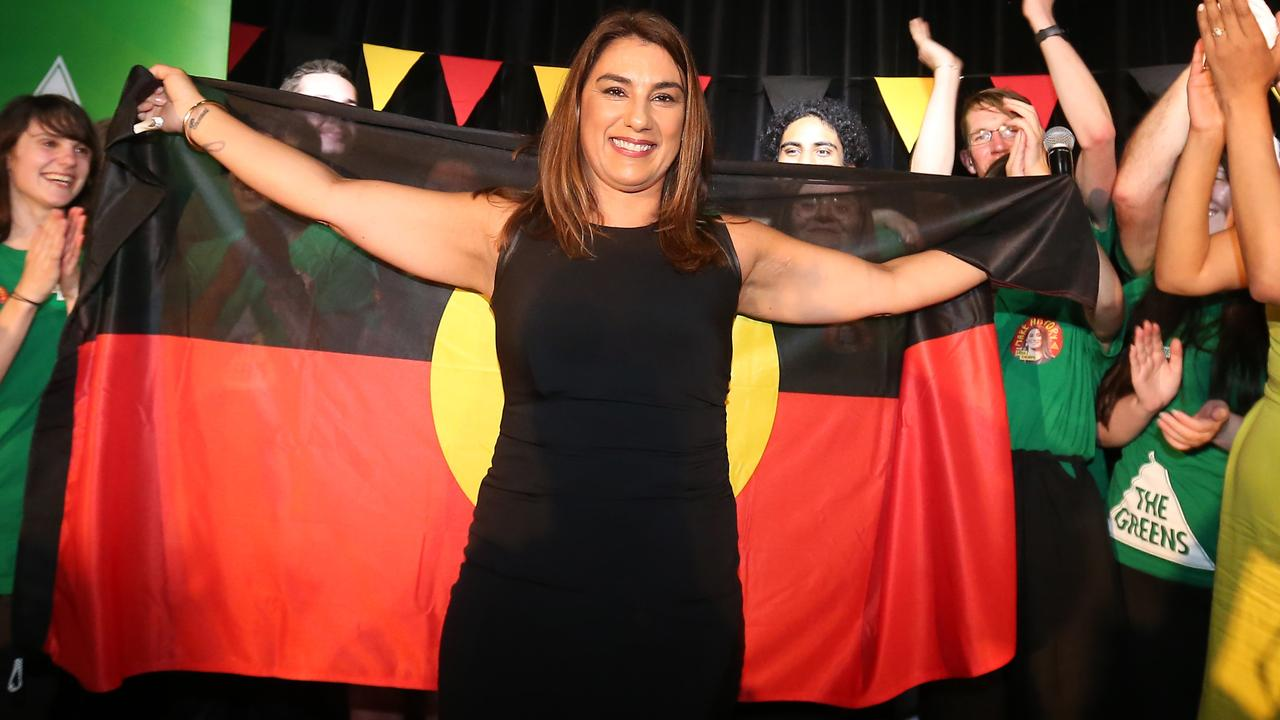 Lidia Thorpe was the first Indigenous MP in Victoria and is now headed to Canberra to replace Richard Di Natale in the Senate. Picture: Yuri Kouzmin