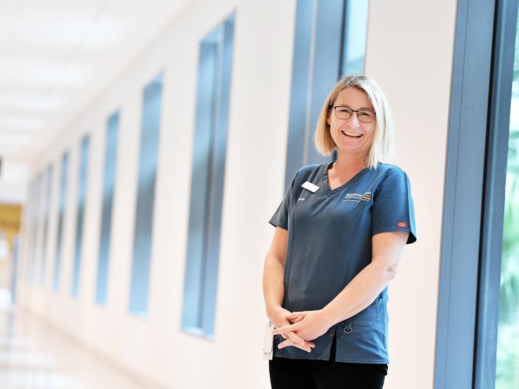 Fiona Jackson Clinical Director of Fever Clinic, Sunshine Coast University Hospital. Photo Patrick Woods