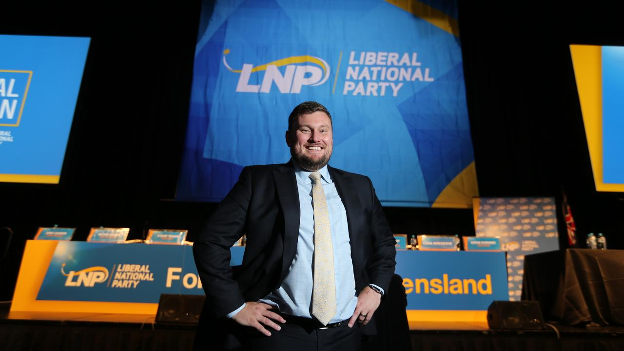 LNP President David Hutchinson. Picture: AAP Image/Richard Gosling