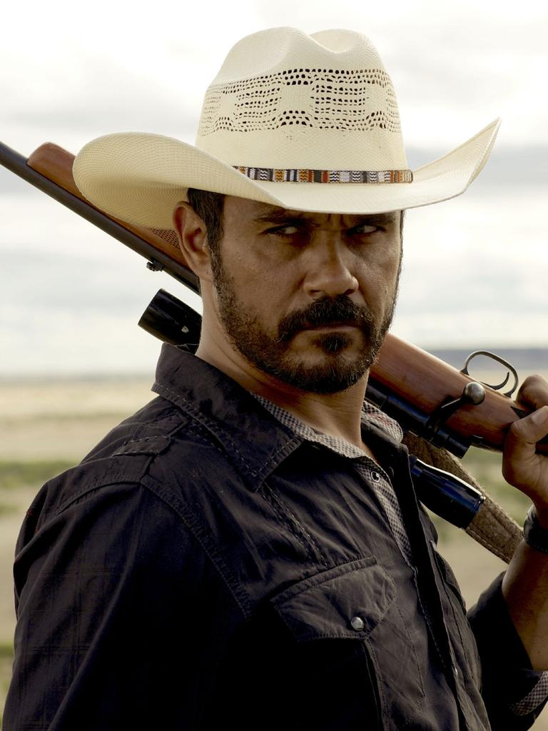 Territorian Aaron Pedersen stars in Mystery Road, the opening night film of the Darwin International Film Festival. Supplied pic.