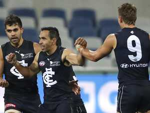 Eddie the hero as desperate Blues survive Cats onslaught