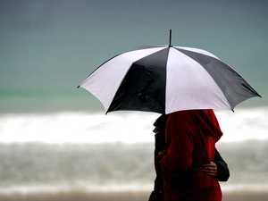 Break out brollies with wet weather here to stay
