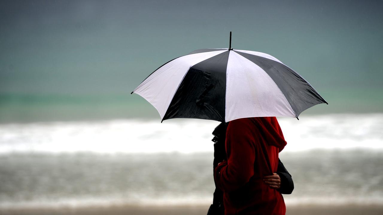 Wet weather has arrived on the Sunshine Coast.
