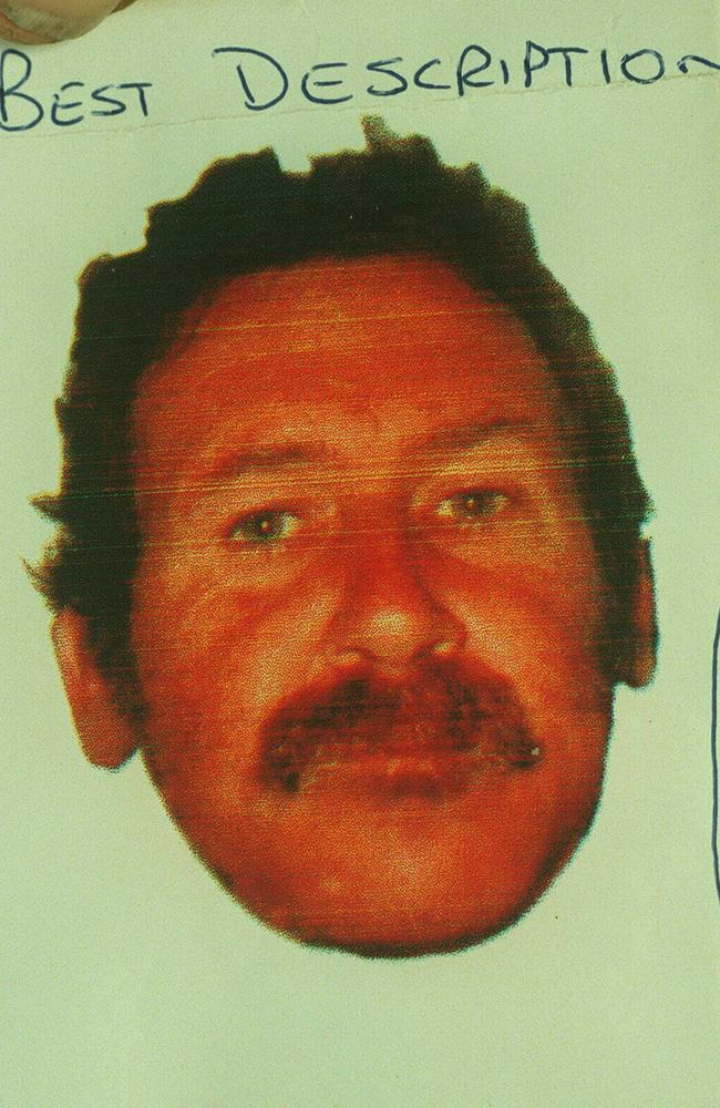 An image of William Fox used by police when he was on the run.