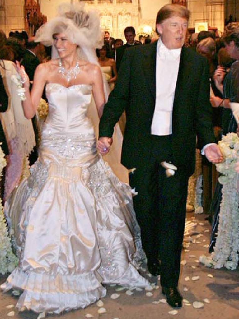 C'était le troisième mariage de Trump. Image: Maring Photography / Getty Images