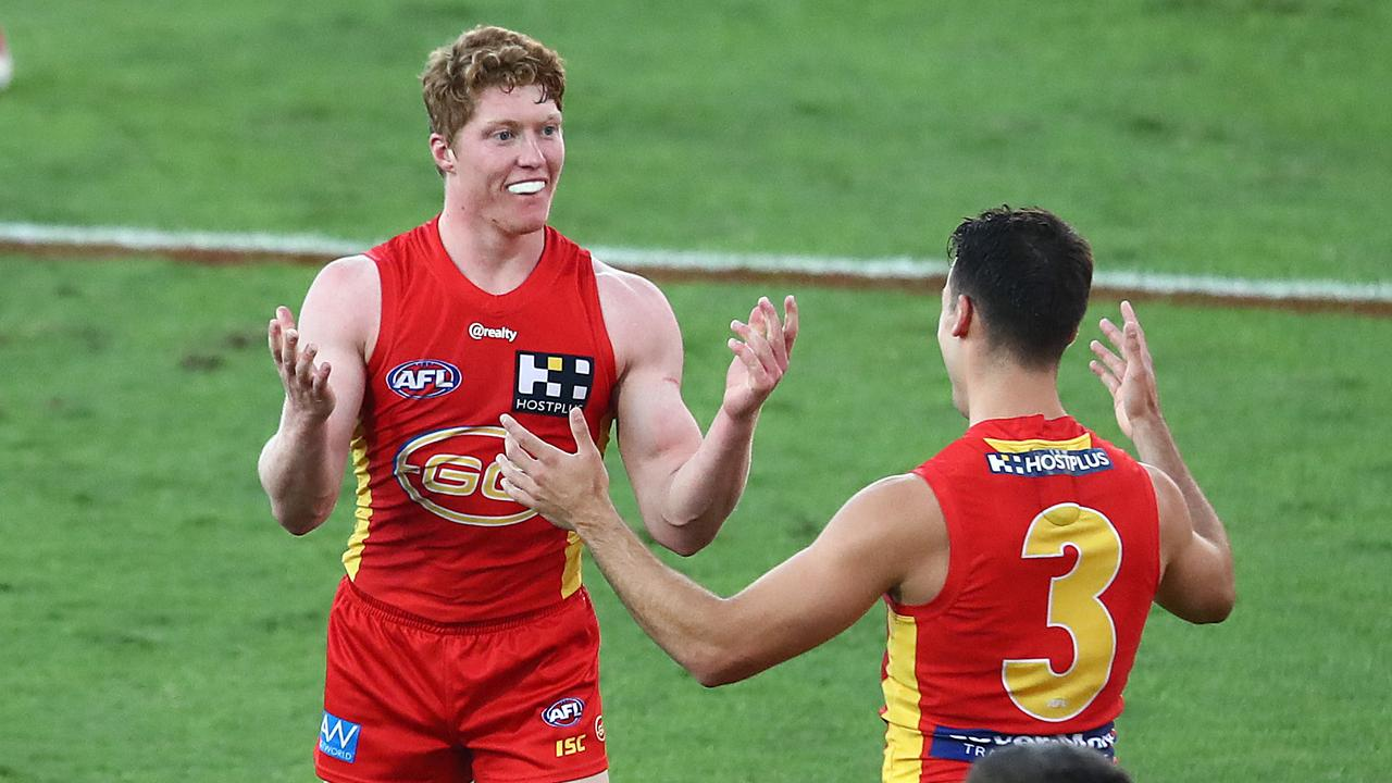Matt Rowell isn't satisfied just yet. Picture: Getty Images