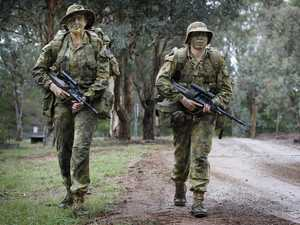 Defence Force brass exclude men to attract more women