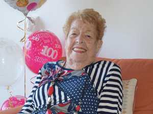 Beryl celebrates 100 years with cheeky sense of humour