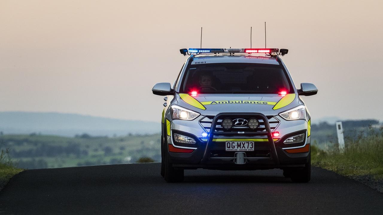 Two teens were taken to the Sunshine Coast University Hospital.
