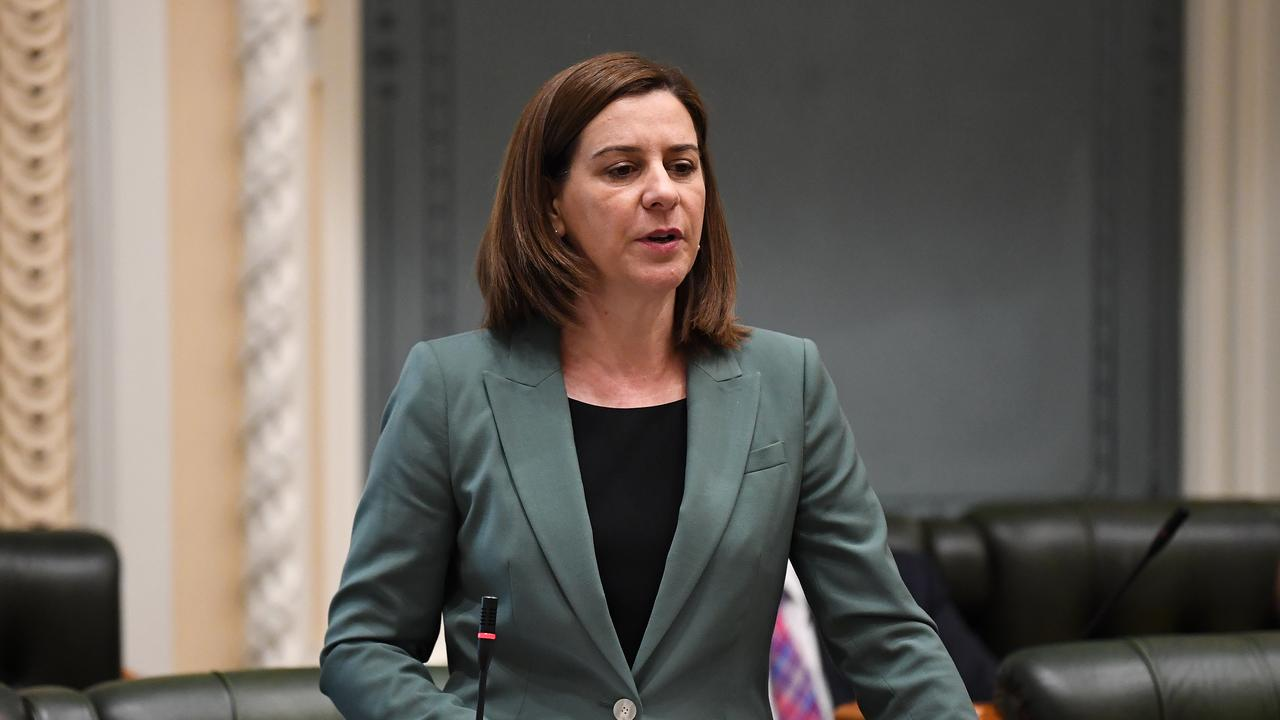 Queensland Leader of the Opposition Deb Frecklington (AAP Image/Dan Peled)