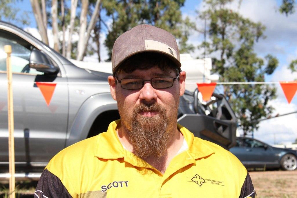 Scott Sweeney of Gladstone.