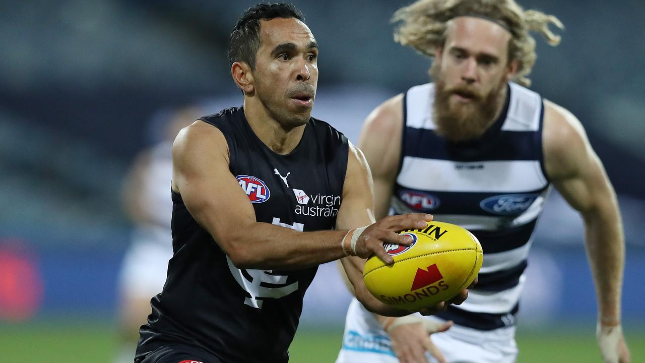 Eddie Betts responded to a tough week in brilliant style.