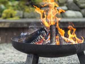 Night around the firepit lands woman in hospital