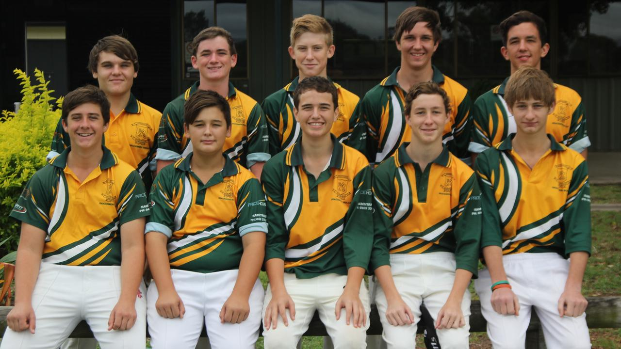 Tony Newman coached Gracemere's under-16 team to victory in the Rockhampton competition in 2014.