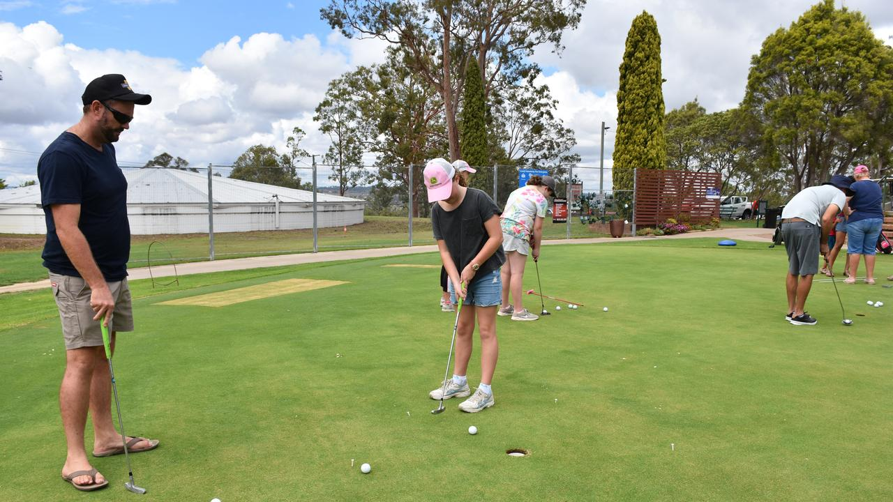 STRONG NUMBERS: Organisers for Warwick's junior golf come and try day are hoping to replicate the same success they had in January.