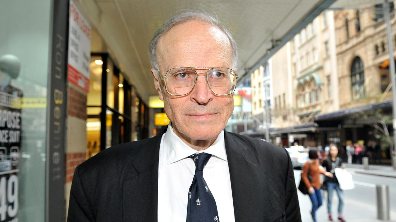 Former High Court judge Dyson Heydon denies the allegations. Picture: Joel Carrett