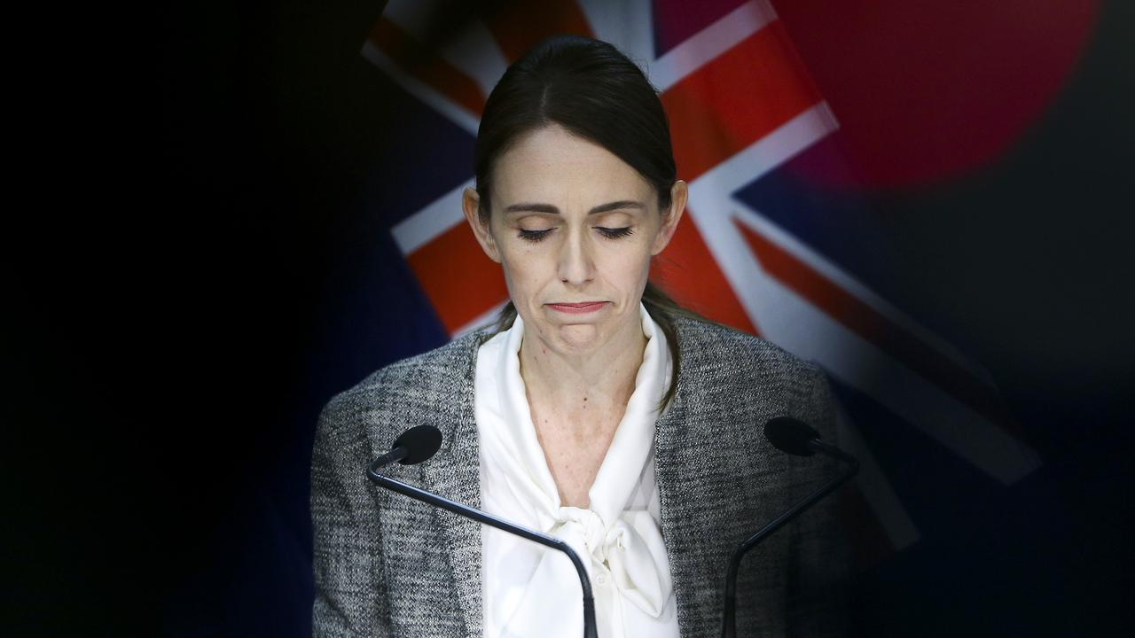 Prime Minister Jacinda Ardern is facing pressure over the return of the virus. Picture: Hagen Hopkins/Getty Images