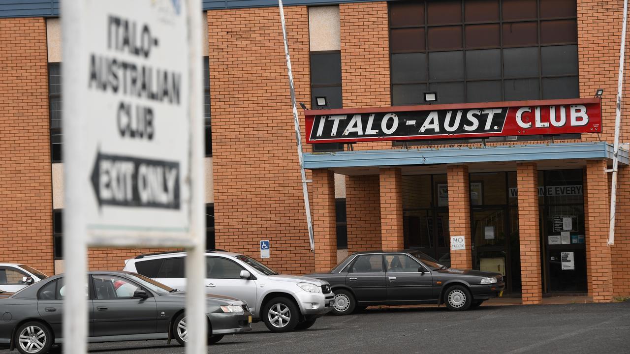The Italo-Australian Club in North Lismore.