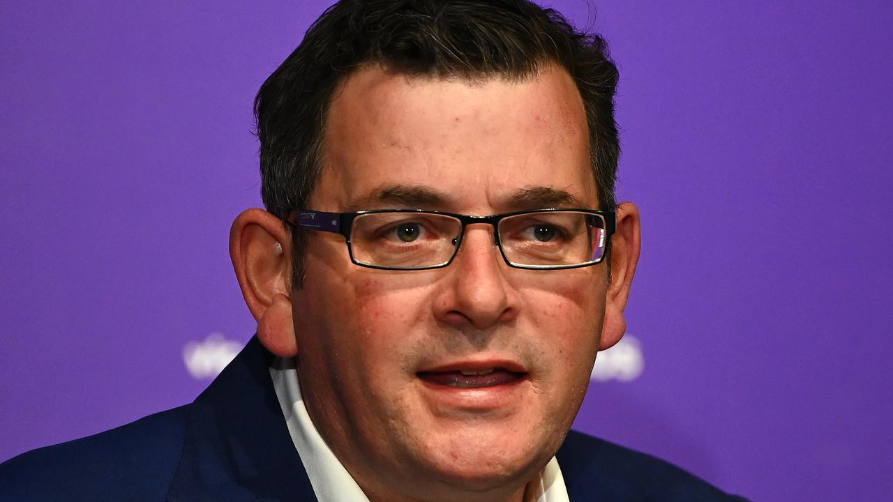Victorian premier Daniel Andrews. Picture: Quinn Rooney/Getty Images.