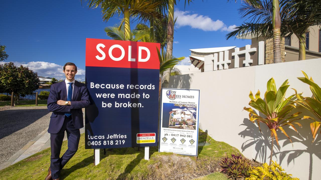 The sale is a career highlight for Henzells agent Lucas Jeffries.